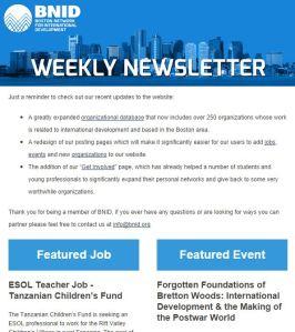 BNID new newsletter