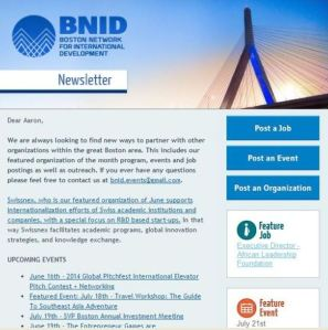 BNID old newsletter